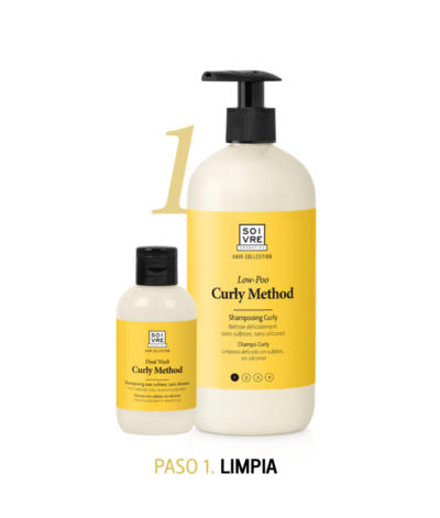 paso 1 curly method soivre cosmetics