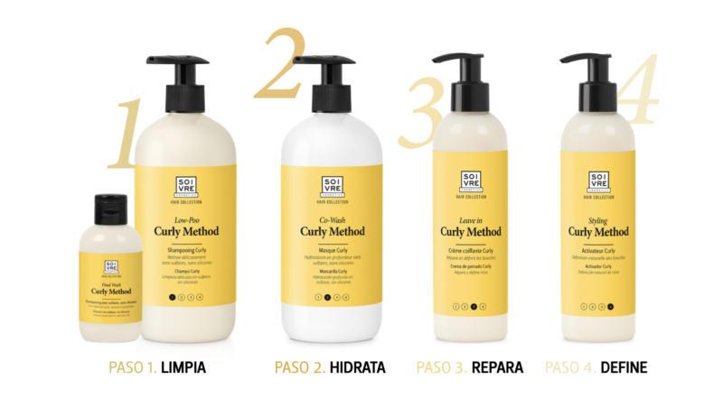 Rutina Curly Method Soivre Cosmetics